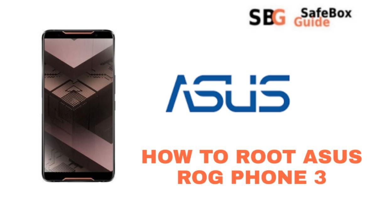 ROOT ASUS ROG PHONE 3