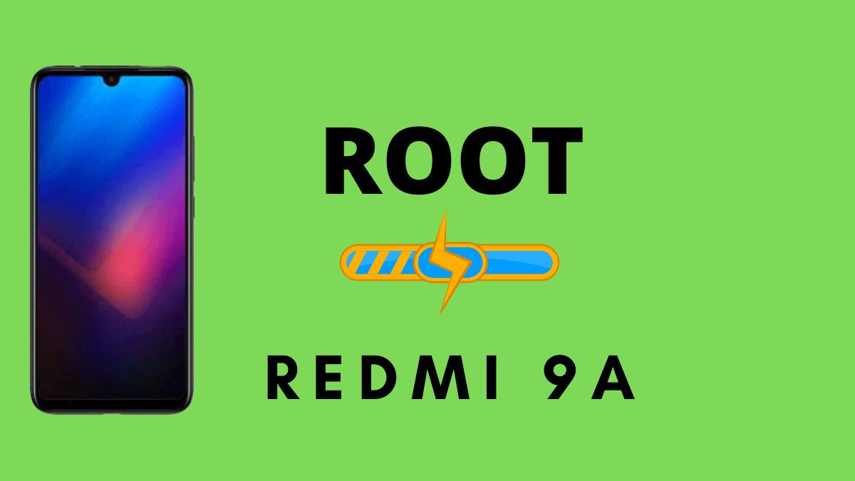 Root Redmi 9A