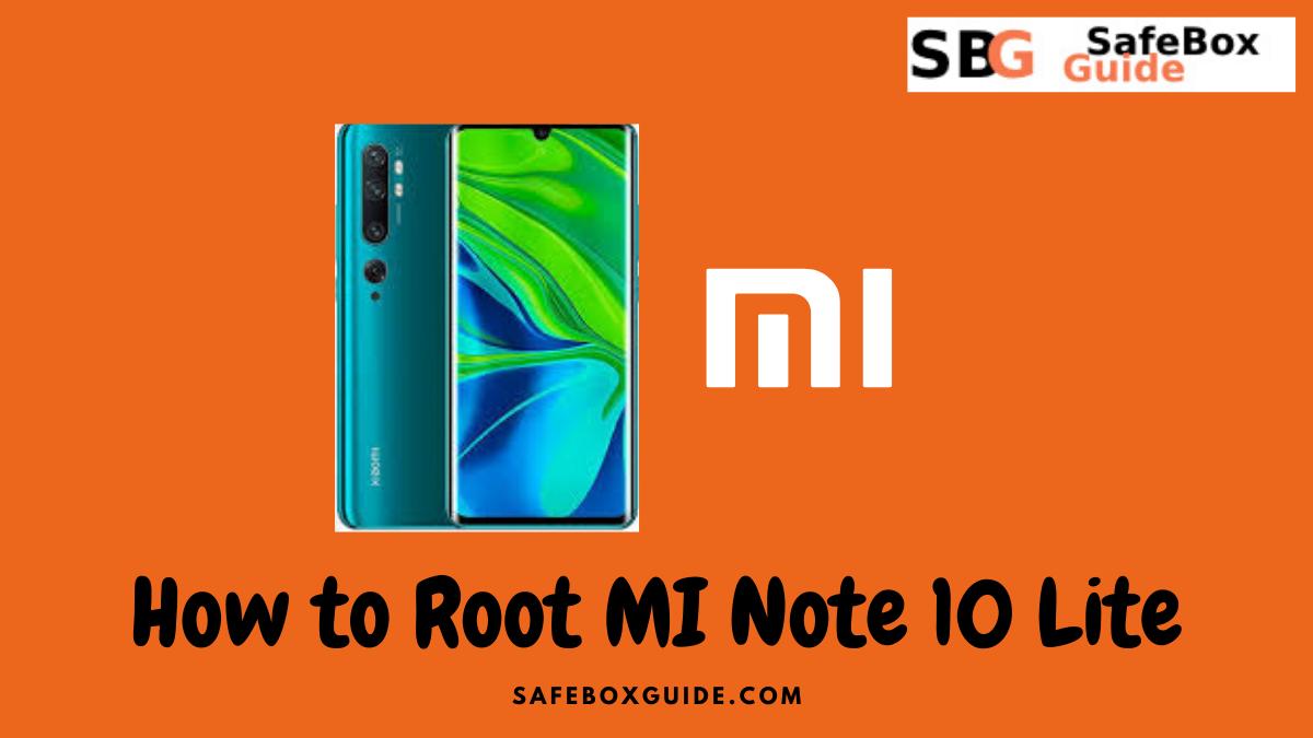 Root MI Note 10 Lite