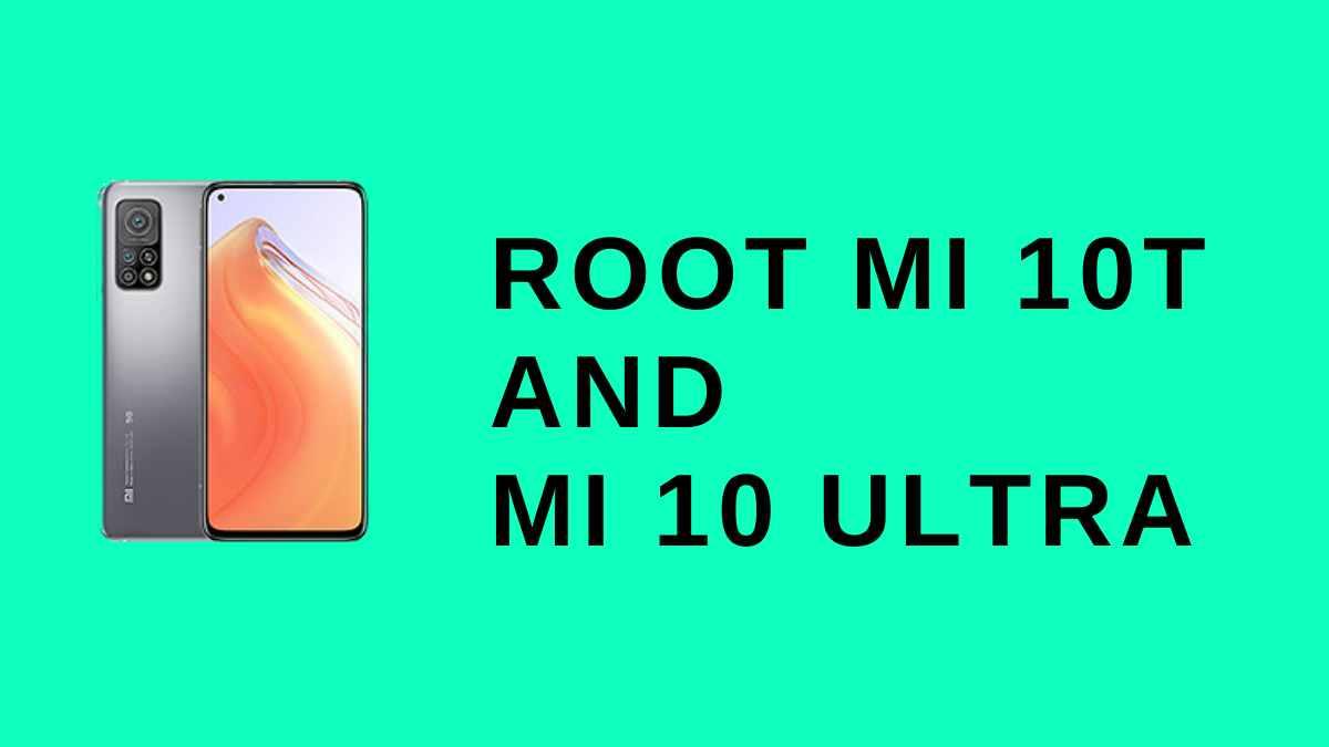 Root Mi 10t
