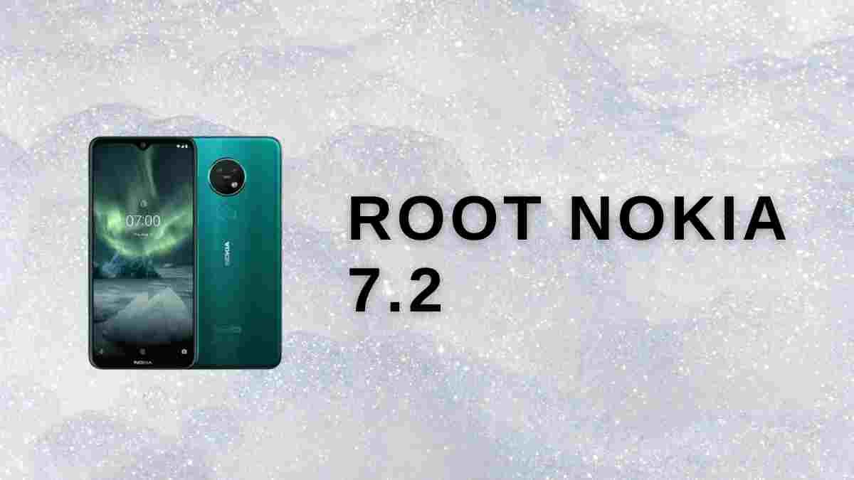 Root Nokia 7.2