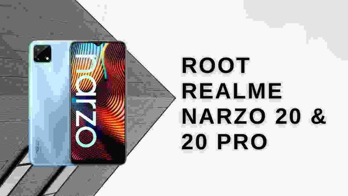 root realme narzo 20 & 20 Pro