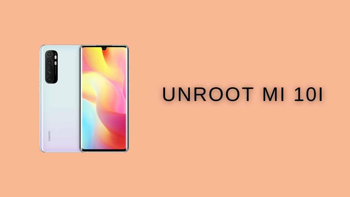 unRoot MI 10i