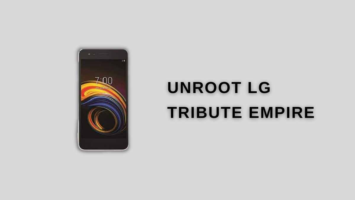 UnRoot LG Tribute Empire