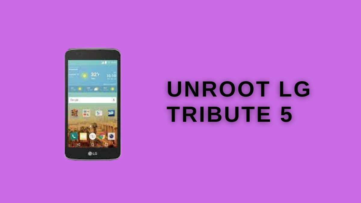 Unroot Lg tribute 5